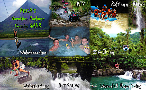 7 days of adrenalin with Paradise Adventures Costa Rica