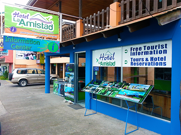 PACR's new Location Hotel La Amistad