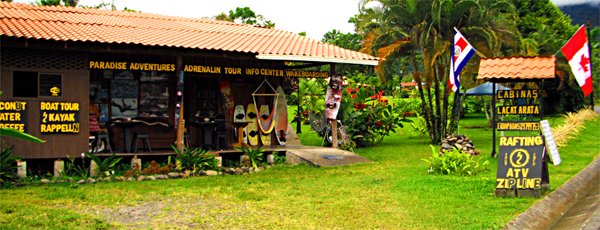 La Fortuna's Adrenalin Info Center
