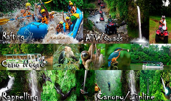 Costa Rica Vacation Packages Loaded With Adrenlin Filled Tours - Costa rica tour packages