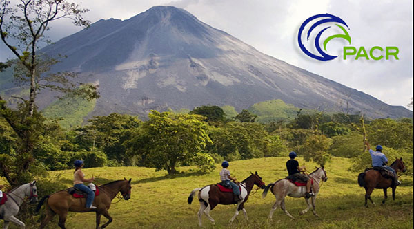 Horseback Riding at the base of the Arenal Volcano Costa Rica