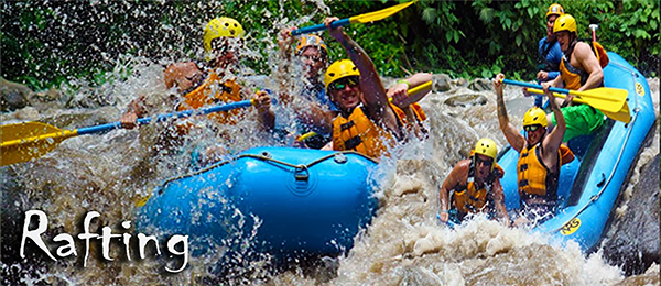 White Water Rafting La Fortuna Costa Rica